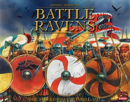 Battle Ravens The Shieldwall Boardgame Game Box