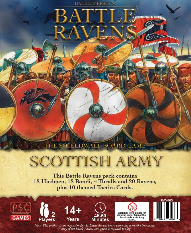 Battle Ravens: Scottish Army Game Box