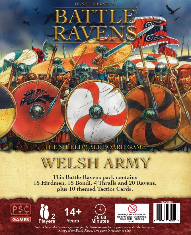 Battle Ravens: Welsh Army Game Box