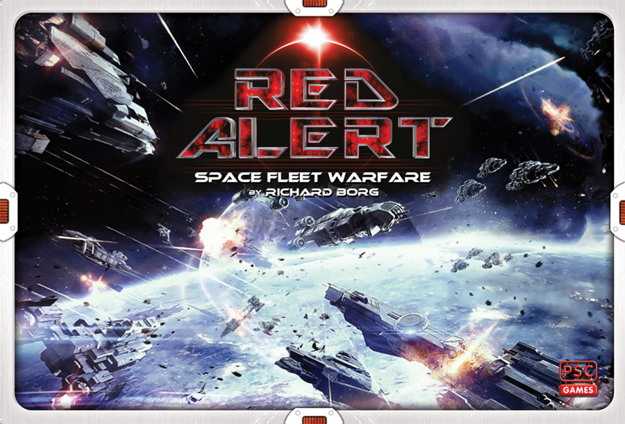 Red Alert - Space Fleet Warfare Game Box