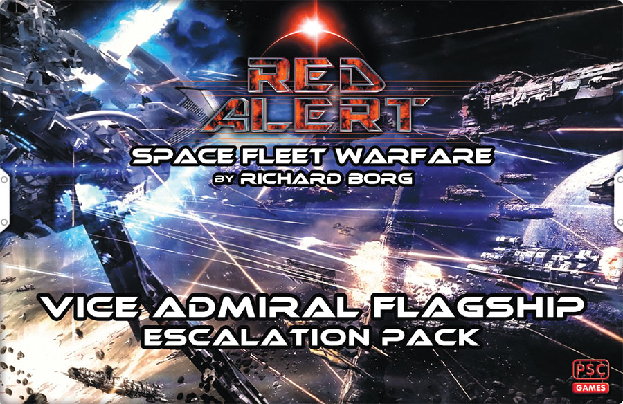 Red Alert: Vice Admiral Flagship Escalation Pack Game Box
