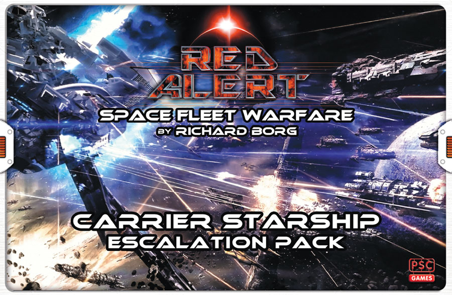 Red Alert: Carrier Starship Escalation Pack Game Box