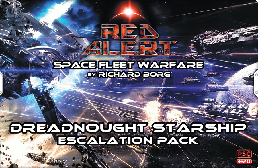Red Alert: Dreadnought Starship Escalation Pack Game Box