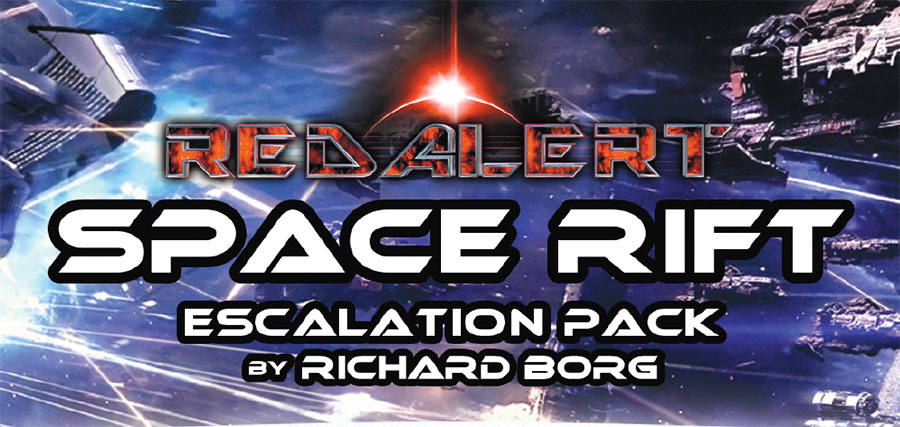 Red Alert: Space Rift Escalation Pack Game Box