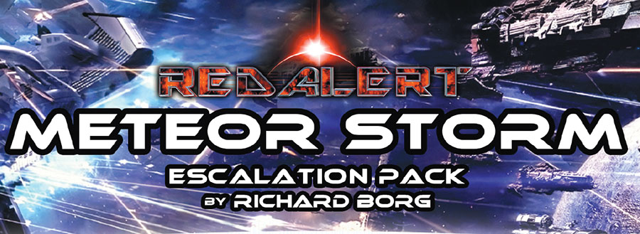 Red Alert: Meteor Storm Escalation Pack Game Box