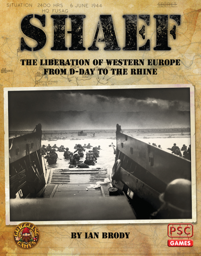 Shaef (supreme Headquarters Allied Expeditionary Force) Box Front