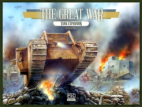 The Great War: Tank Expansion Box Front