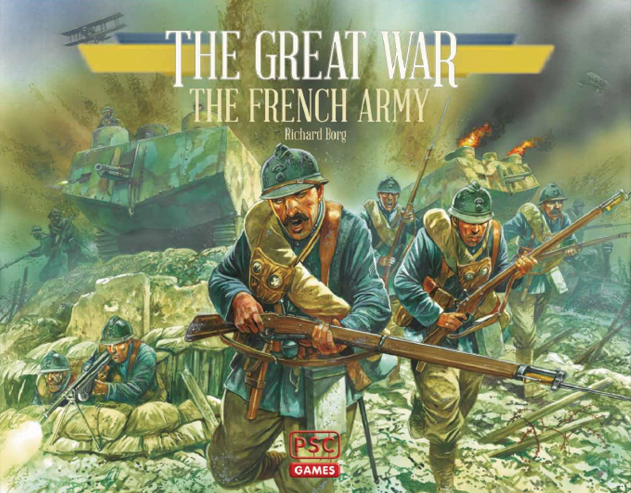 The Great War: French Army Expansion Box Front