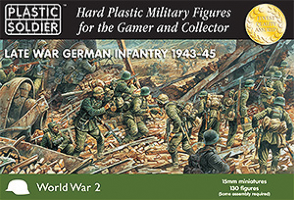15mm Easy Assembly: Late War German Infantry 1943-45 Box Front