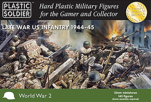 15mm Easy Assembly: American Infantry 1944-45 Box Front