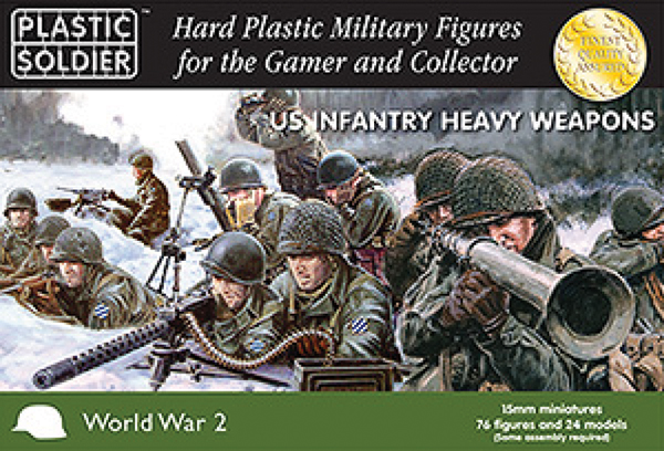 15mm Easy Assembly: American Heavy Weapons 1944-45 Box Front