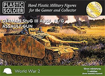 15mm Easy Assembly: German Stug Iii F8/g Assault Gun Box Front