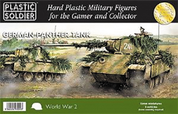 15mm Easy Assembly: German Panther Tank Box Front
