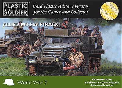 15mm Easy Assembly: M3 Halftrack Box Front