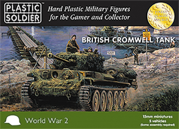 15mm Easy Assembly: Cromwell Tank Box Front