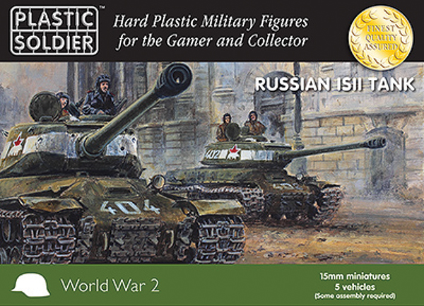 15mm Easy Assembly: Is2 Tank Box Front