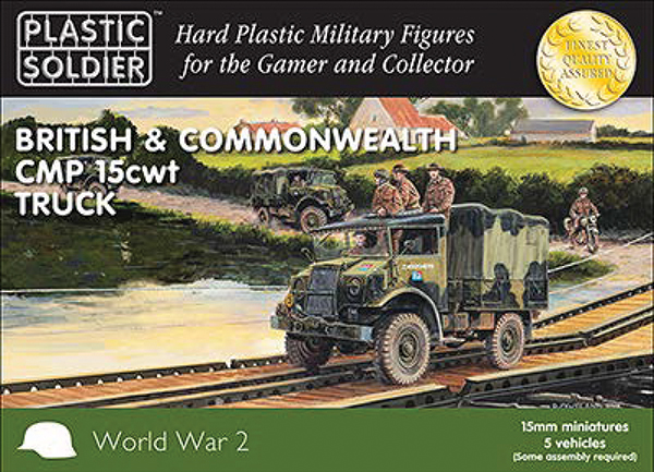 15mm Easy Assembly: British And Commonwealth Cmp 15 Cwt Truck Box Front