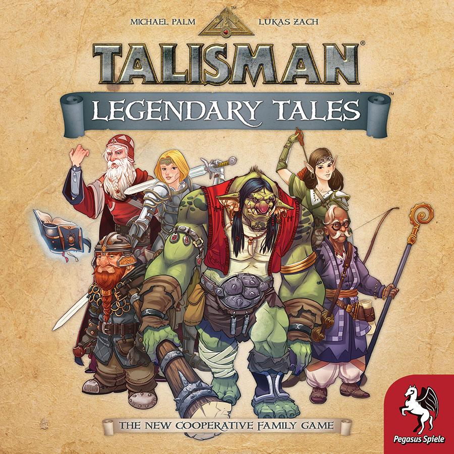 Talisman - Legendary Tales Game Box