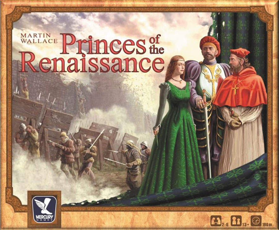 Princes Of The Renaissance Game Box
