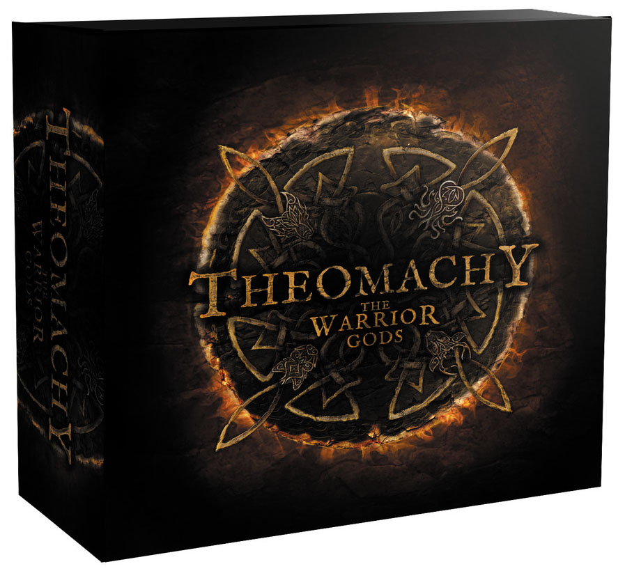 Theomachy: The Warrior Gods Box Front