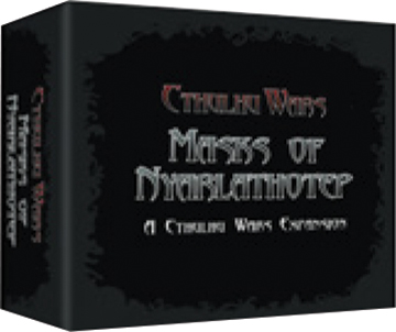 Cthulhu Wars: Masks Of Nyarlathotep Box Front