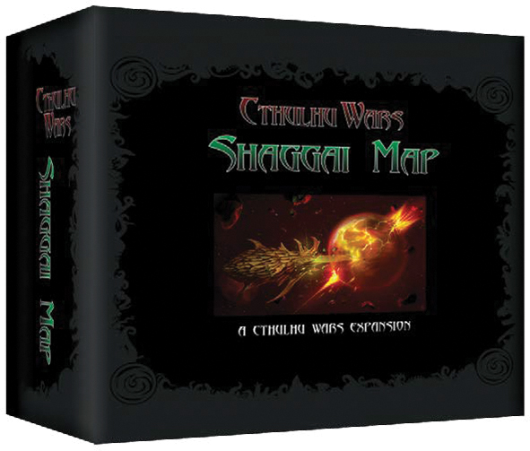 Cthulhu Wars: Shaggai Map Box Front