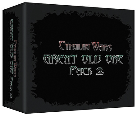 Cthulhu Wars: Great Old One Pack 2 Box Front