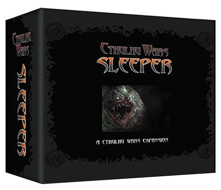 Cthulhu Wars: The Sleeper Faction Box Front