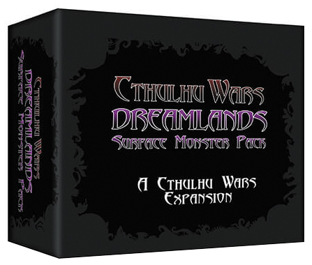 Cthulhu Wars: Dreamland Surface Monster Expansion Box Front