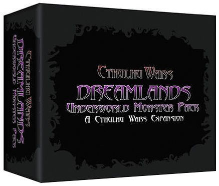 Cthulhu Wars: Dreamland Underworld Expansion Box Front