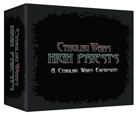 Cthulhu Wars: High Priest Expansion Box Front
