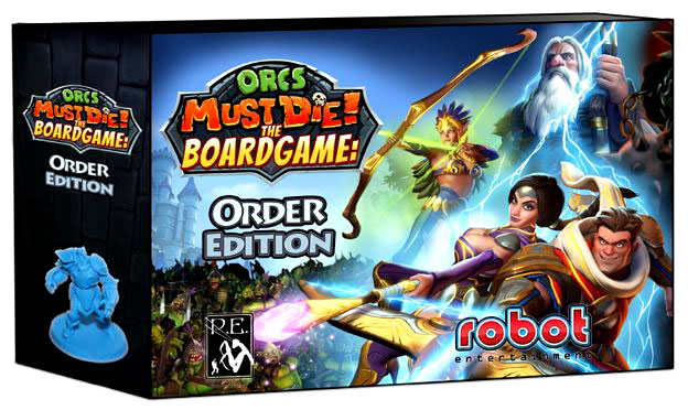 Orcs Must Die: The Board Game Box Front