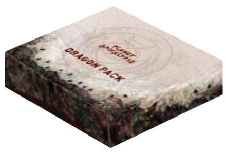 Planet Apocalypse: Dragon Pack Expansion Box Front