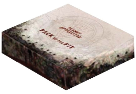 Planet Apocalypse: Pack Of The Pit Expansion Box Front