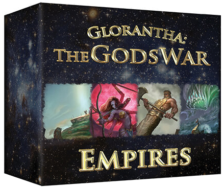 The Gods War: Empires Box Front