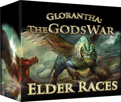 The Gods War: Elder Races Box Front