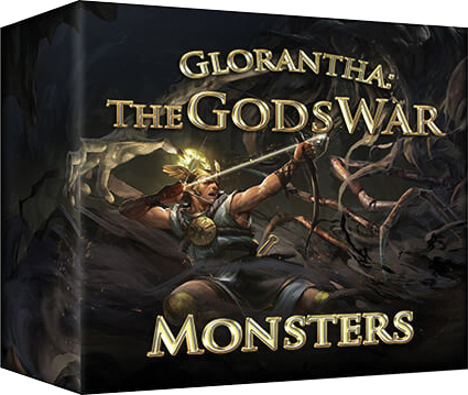 The Gods War: Monsters Box Front