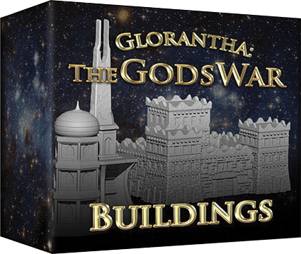 The Gods War: Buildings Box Front