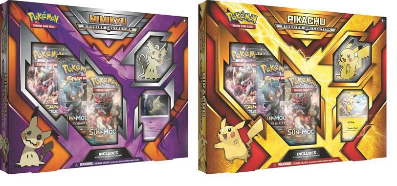 Pokemon Tcg: Sidekick Collection Case (6 Pikachu/6 Mimikyu) Box Front