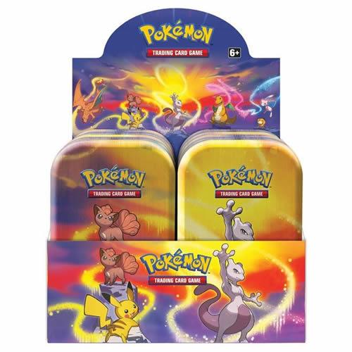 Pokemon Tcg: Kanto Power Mini Tin Display (10) Game Box