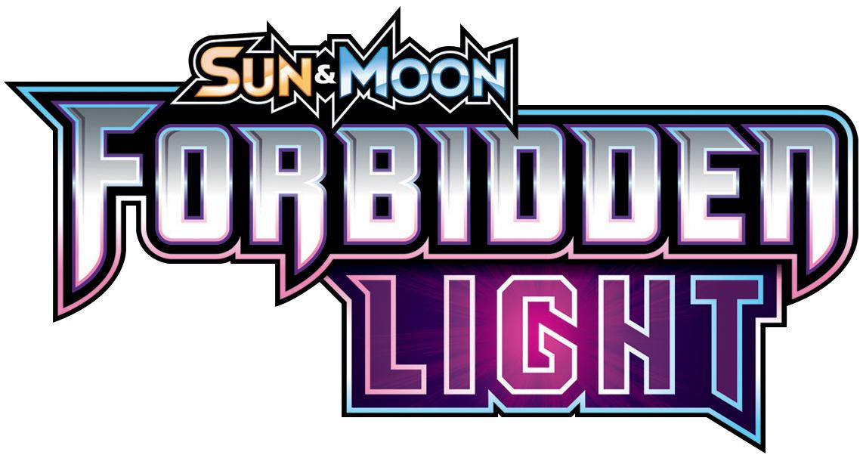 Pokemon: Sun & Moon Forbidden Light Theme Deck Display (8) Box Front
