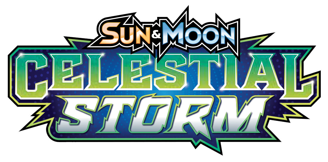 Pokemon: Sun & Moon Celestial Storm Theme Deck Display (8) Box Front