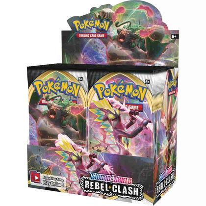 Pokemon Tcg: Sword & Shield - Rebel Clash Booster Display (36)