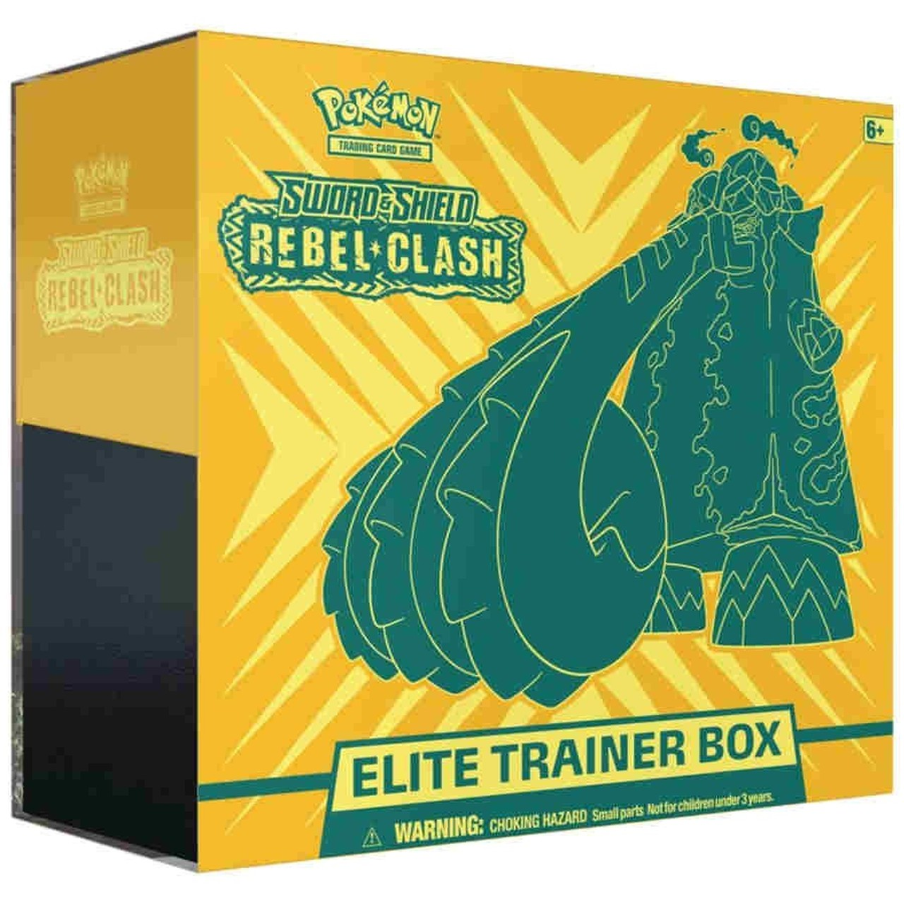 Pokemon Tcg: Sword & Shield - Rebel Clash Elite Trainer Box