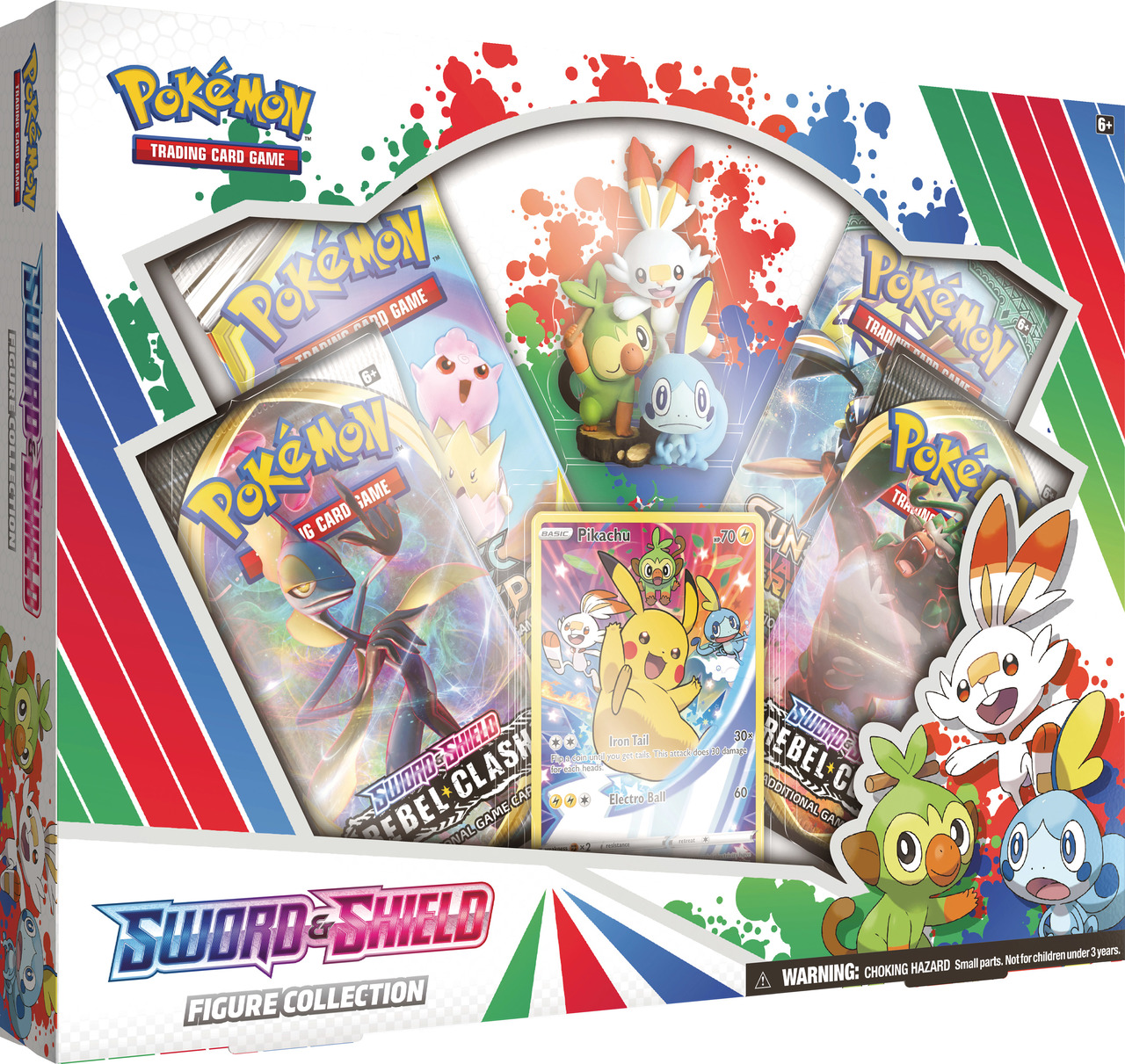 Pokemon Tcg: Sword & Shield Figure Collection