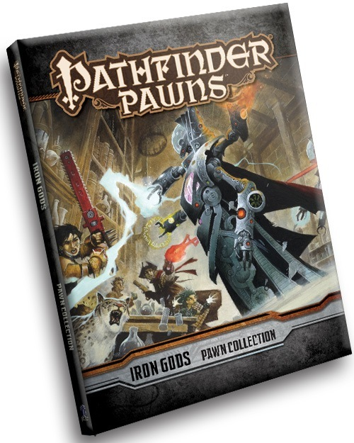 Pathfinder Rpg: Pawns - Iron Gods Adventure Path Pawn Collection Box Front