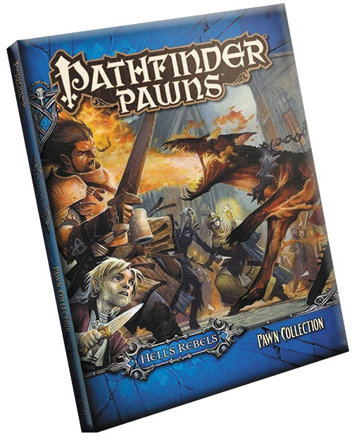 Pathfinder Rpg: Pawns - Hell`s Rebels Adventure Path Pawn Collection Box Front