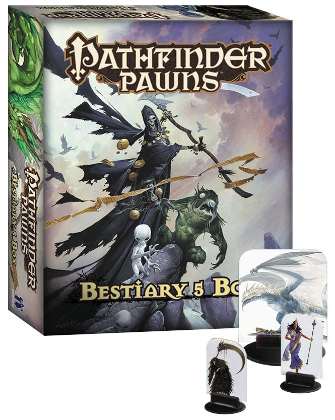 Pathfinder Rpg: Pawns - Bestiary 5 Box Box Front
