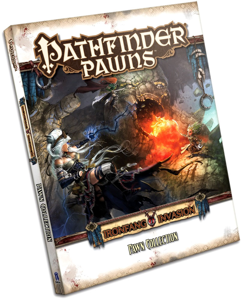 Pathfinder Rpg: Pawns - The Ironfang Invasion Pawn Collection Box Front
