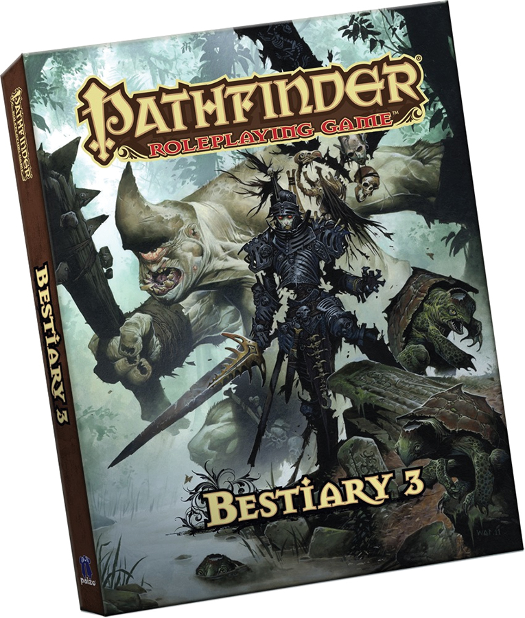 Pathfinder Rpg: Bestiary 3 (pocket Edition) Box Front